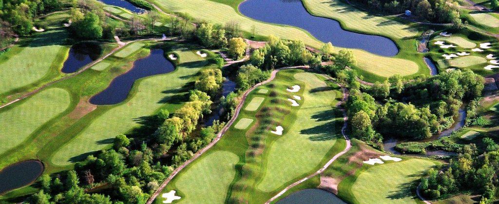 Royal Ontario Golf Club aerial view