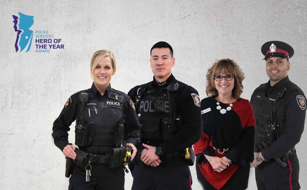 2020 Police Hero Banner